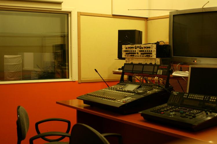 Аппаратная звукозаписи